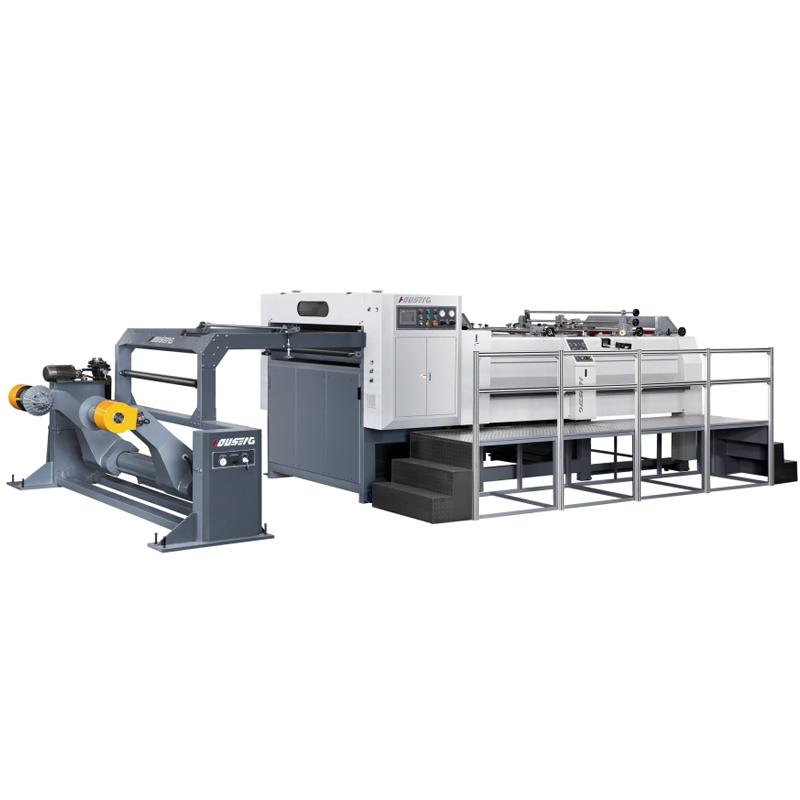 它领先于目前国内纸品及印刷业同类的加工机器,并将为贵公司成倍提高