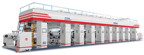 华丰机械hya-8-1050p电子轴传动凹版印刷机