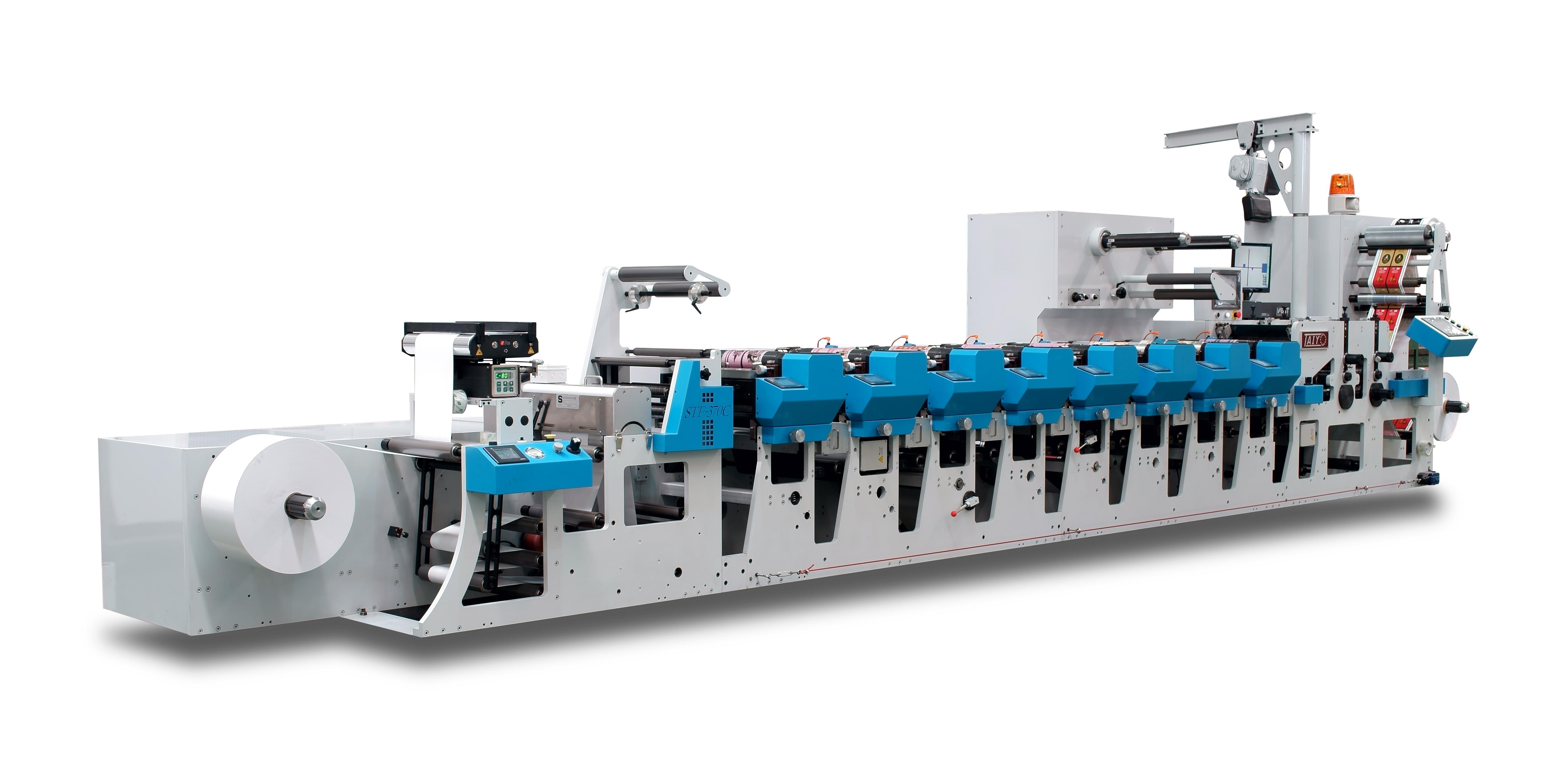 轮转印刷机_太阳机械stf-460c紧凑型柔版轮转印刷机