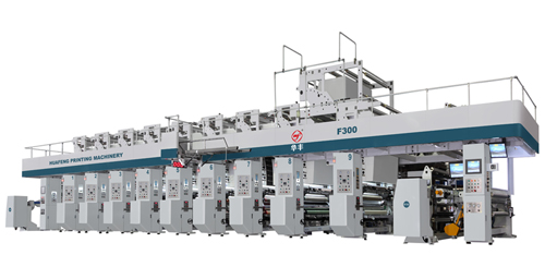 华丰机械hya-9-1050f电子轴传动凹版印刷机