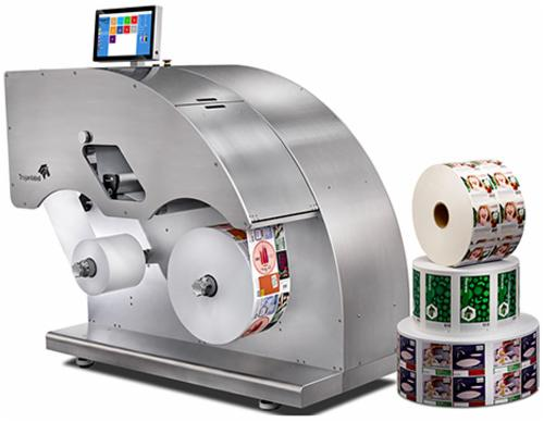 trojanlabel卓越2号生产型数码标签印刷机