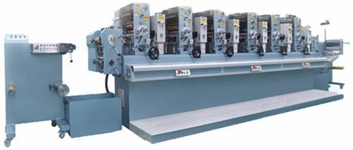 昌鸿和协ch-280六色商标轮转印刷机