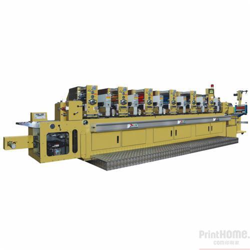 昌鸿和协ch-300六色商标轮转印刷机